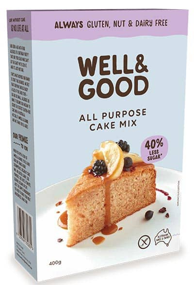 Reduced Sugar All Purpose Cake Mix