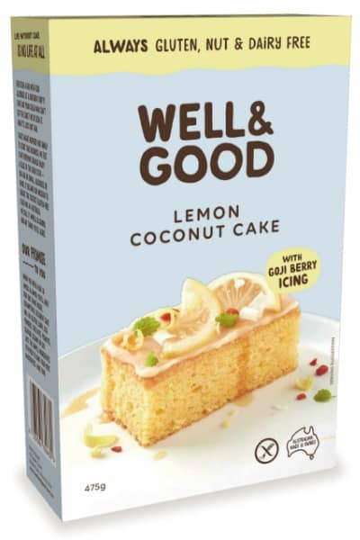 gluten free lemon cake mix