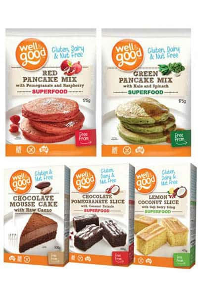 Gluten free mixed pack